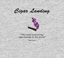 Cigar Landing T-Shirt, New York City Cigar Lounge Unisex T-Shirt
