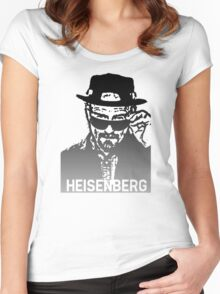 Breaking Bad | Heisenberg  Women's Fitted Scoop T-Shirt