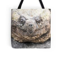 Alligator Snapping Turtle (Closeup) Tote Bag