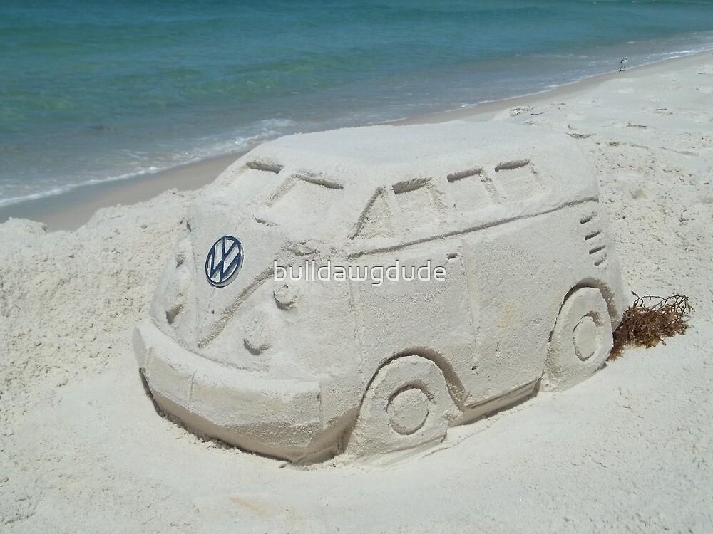 VW beach sculpture by bulldawgdude