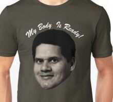MY BODY IS REGGIE- TEXT Unisex T-Shirt