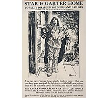 Star Garter Home for totally disabled soldiers and sailors 464 Photographic Print