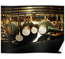 Suave Tones - Saxophone Keys Poster