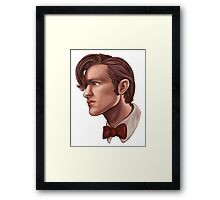 Eleventh Doctor Framed Print