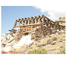 A forgotten mining town Photographic Print