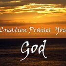 &quot;Creation Praises You God.&quot; by Carter L. Shepard by echoesofheaven