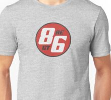 86 - AE or GT?   (dark print) Unisex T-Shirt