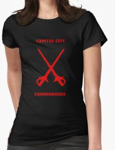 Capitol City Commodores Womens Fitted T-Shirt