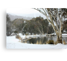 Thredbo Village, NSW Canvas Print