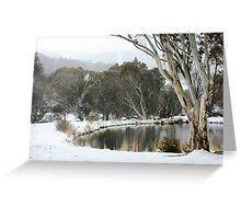 Thredbo Village, NSW Greeting Card