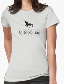 Periodic Unicorn  Womens Fitted T-Shirt