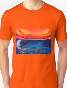 Abstract Mallorca Unisex T-Shirt