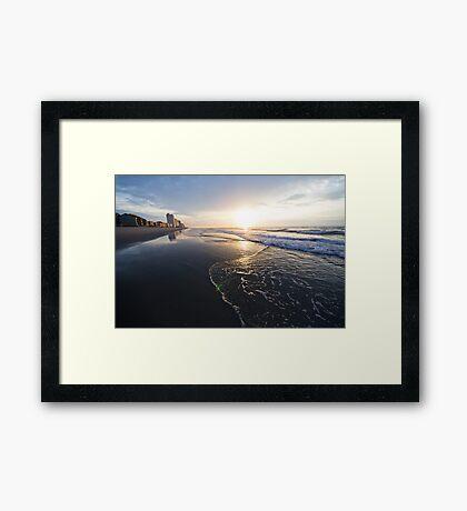 Sunrise in Garden City Framed Print