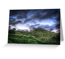 One Tree Hill, Auckland, New Zealand Greeting Card