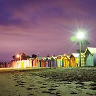 Brighton Bathing Boxes by Julie Thomas