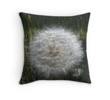 Dandelion Head Throw Pillow