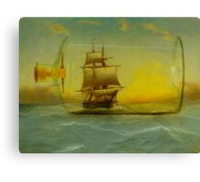 Once In It is Difficult to Escape Canvas Print