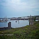Holyhead Harbour, Wales by Lisa Hafey