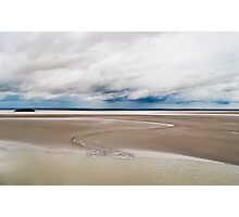 The sandy shores of Normandy Photographic Print