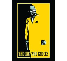 The One Who Knocks - POSTER Photographic Print