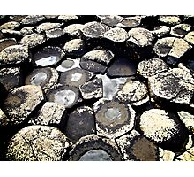 Basalt Formations, Giant's Causeway, Northern Ireland Photographic Print