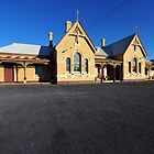 The Old Tenterfield Railway Station. NSW, Australia. (1886) by Ralph de Zilva