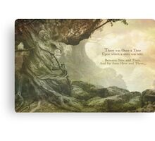 Once Upon a Whistling Tree Canvas Print