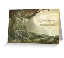 Once Upon a Whistling Tree Greeting Card