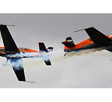 Opposition Blades Photographic Print