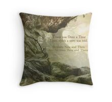 Once Upon a Whistling Tree Throw Pillow