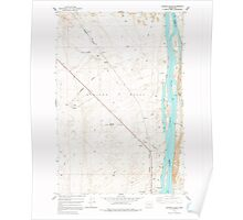 USGS Topo Map Washington State WA Wooden Island 244781 1978 24000 Poster