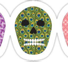 Sugar Pattern Skulls Sticker