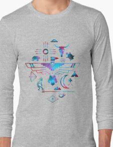 Native American Symbols Long Sleeve T-Shirt