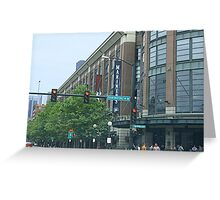 Safeco Field on Game Day Greeting Card