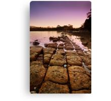 Sunrise at Eggs and Bacon Bay, Tasmania Canvas Print