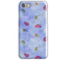 Cute Ladybugs Autumn Leaves Flowers Butterflies iPhone Case/Skin