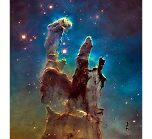 Pillars of Creation Photographic Print