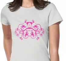 bun de (rosa) Womens Fitted T-Shirt