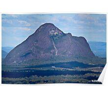Mount Tibrogargan Poster