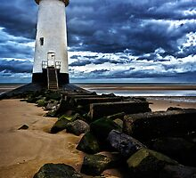 Talacre lighthouse by Mark Bunning