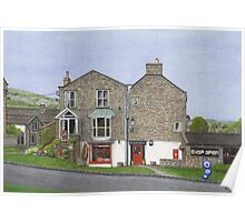Reeth Post Office, Swaledale Poster