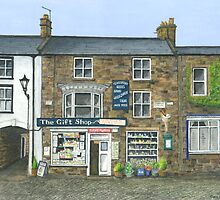 Reeth Gift Shop, Swaledale by Brian Hargreaves