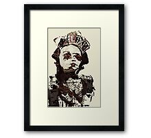 Armoured witch Framed Print