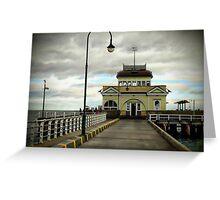 St Kilda Pier Melbourne Greeting Card
