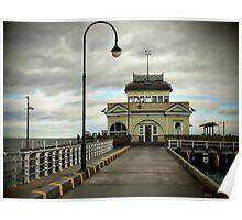 St Kilda Pier Melbourne Poster