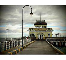 St Kilda Pier Melbourne Photographic Print