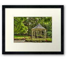 Shakespeare's Garden Framed Print