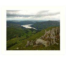 Above Ullswater - Lake District, Cumbria Art Print