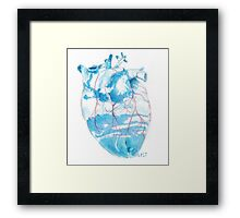 Blue Veins Framed Print