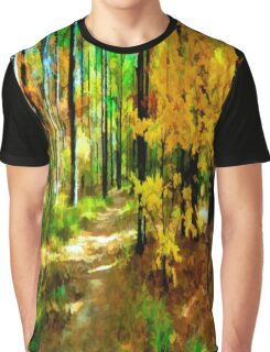 Deep In The Woods of Light & Color Graphic T-Shirt